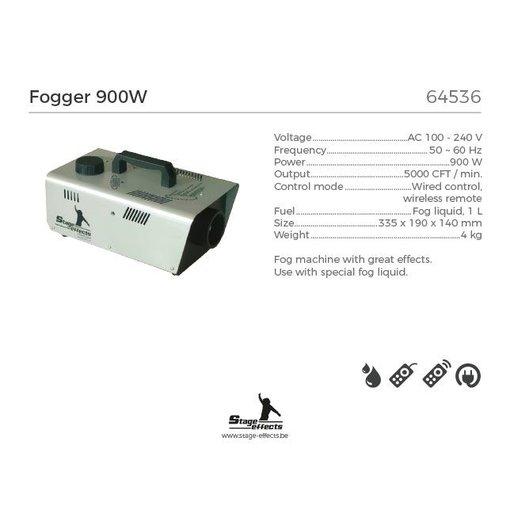 Rookmachine 900w