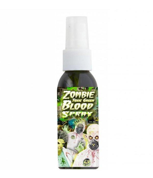 Bloedspray Zombie Groen