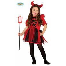 Duivelsoutfit meisje