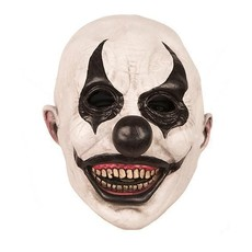 Masker Horror Clown Zwart Wit