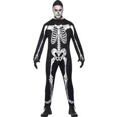 Skeleton Jumpsuit kostuum