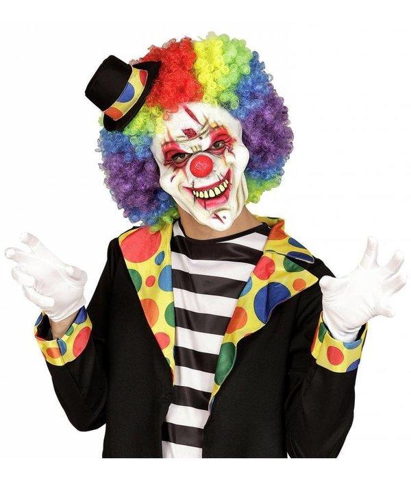 Halfgezicht masker killer clown