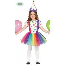 Clownspakje meisjes stippen