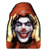Scary Peeper clown cling