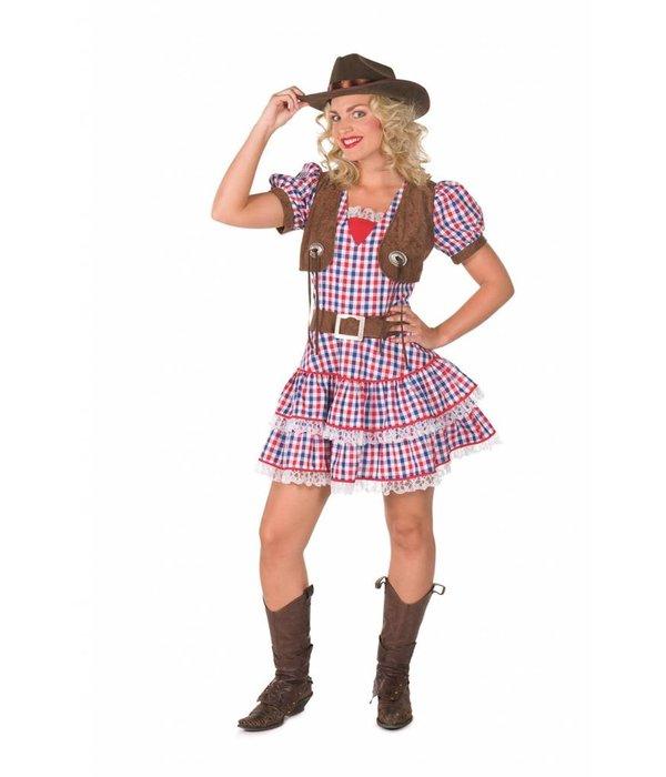 Cowgirl Jurk Geruit