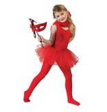 Ballet jurkje rood kind