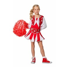Cheerleader Jurk Kind Rood