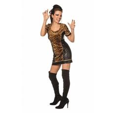 Sexy tijgerprint jurkje