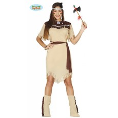 Vrouwelijk indianen kostuum