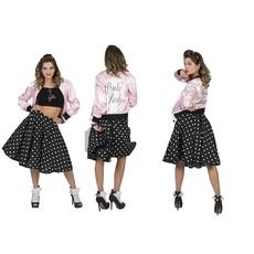 Grease Jaren 50 jasje pink