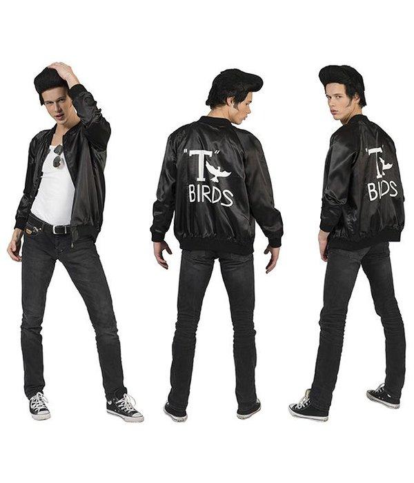 Rock and Roll T-Bird jas zwart