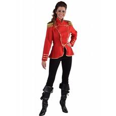 Circus dame uniform jas rood
