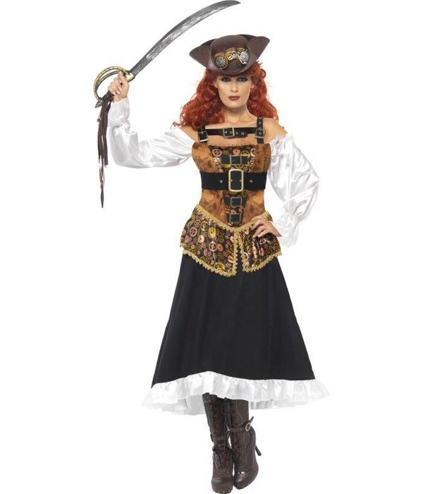 Steampunk Pirate Wench kostuum