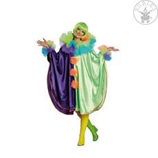 Cape multikleur clown