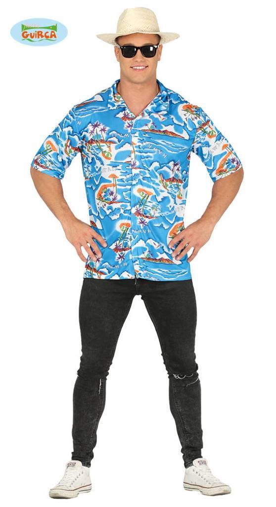 Hawaii Shirt Man