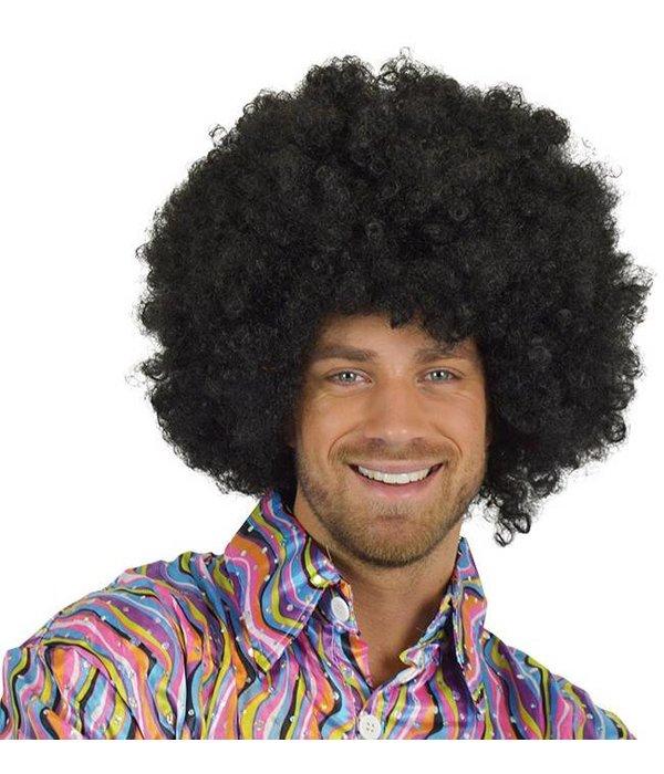 Super zwarte Afropruik