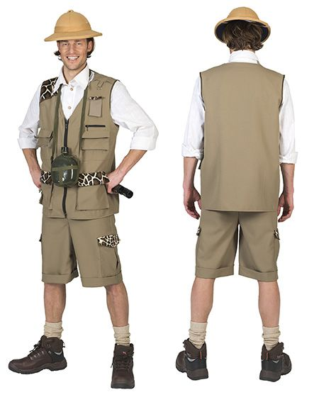 Safari outfit man