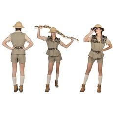 Safari pak vrouw