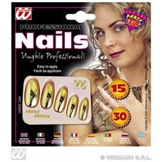 Nagels goud metalic