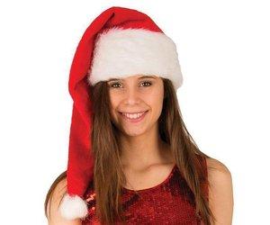 Kerstmuts Met Licht : Kerstmuts pluche cm feestbazaar