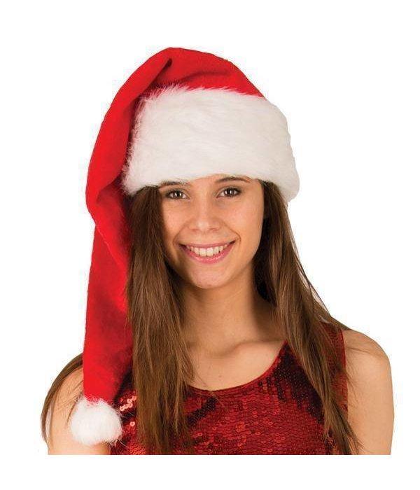 Kerstmuts pluche 80cm