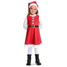 Kerstjurkje rood meisje