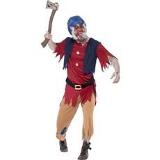 Zombie Dwerg kostuum