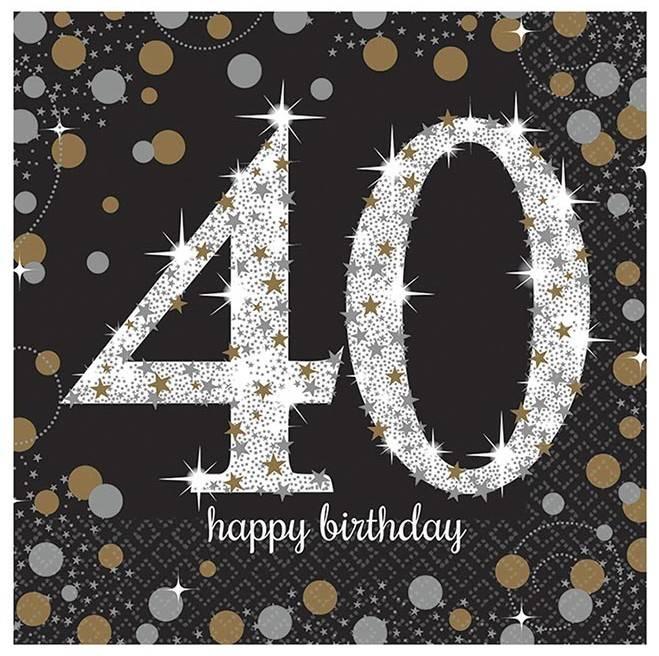 40 Jaar Verjaardag Kaart