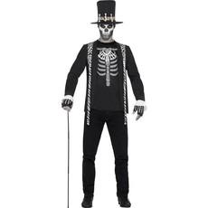 Skelet Dokter kostuum man