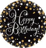 Bordjes Happy Birthday (8 stuks)