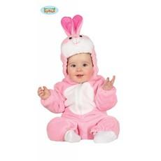 Konijn Roze Baby Jumpsuit