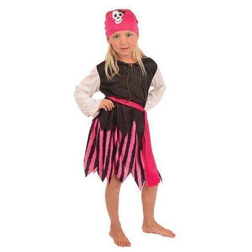 Piraten Kostuum Roze Meisje