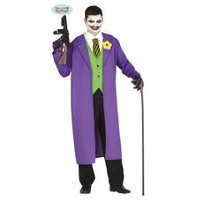 Moordenaar Joker kostuum man