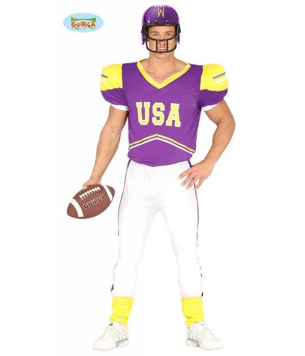 American Football kostuum Dwayne