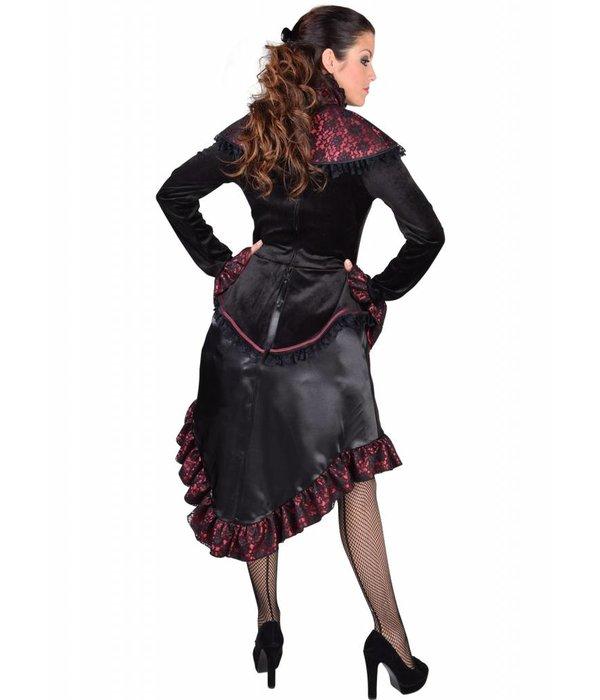 Steampunk saloon jurk