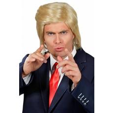 Pruik Donald blond