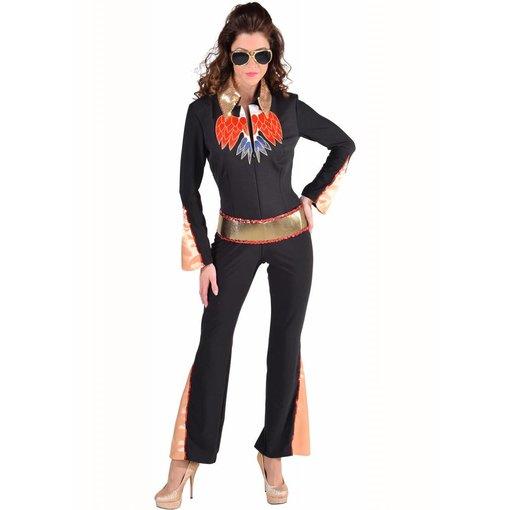 Elvis kostuum dames luxe