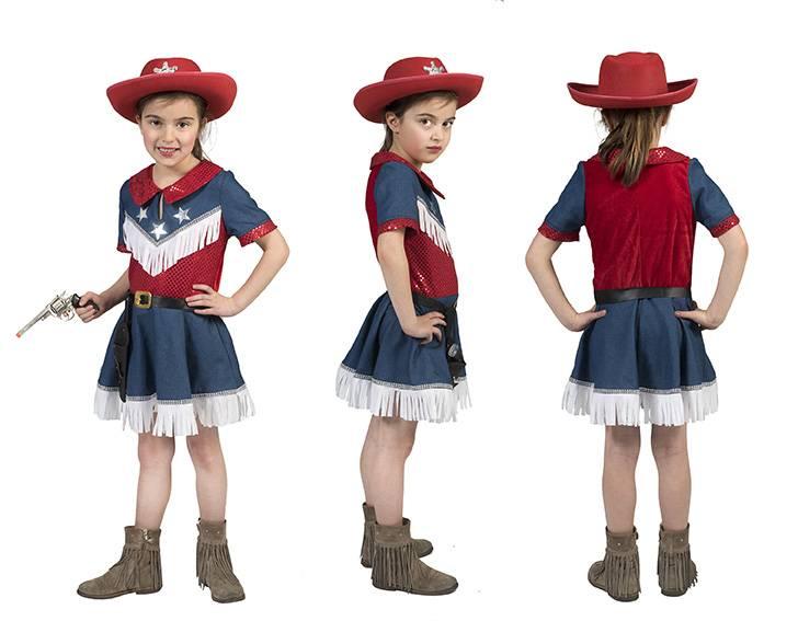 Cowgirl jurkje meisje