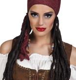 Dames piraten pruik Mary