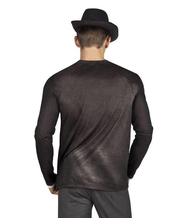 Fotorealistisch shirt vintage/gangster