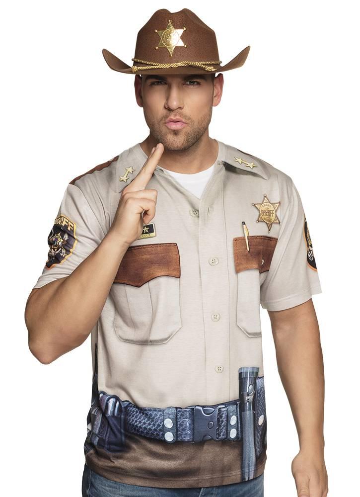 Fotorealistisch shirt Sheriff