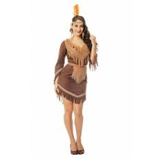 Indianen vrouw kostuum dames