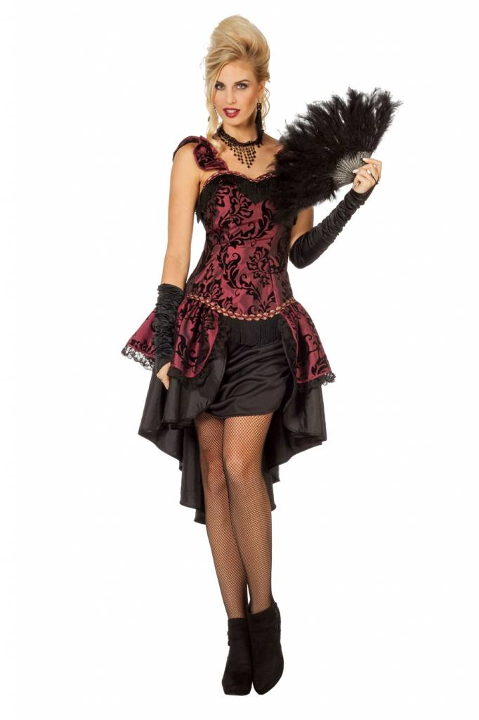 Burlesque jurk luxe