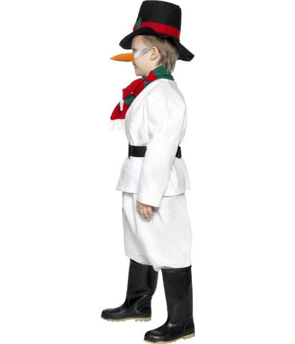 Sneeuwman pakje kind