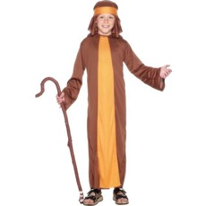 Herder kostuum kind bruin