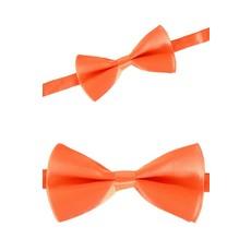 Oranje Strik luxe satijn