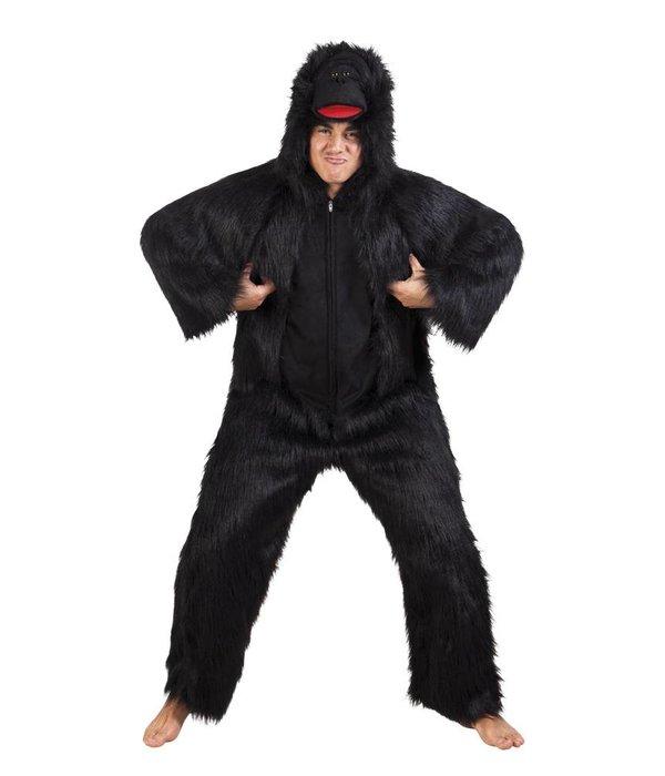 Gorilla kostuum pluche luxe