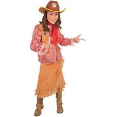Kostuum Cowgirl Sheriff 5-delig
