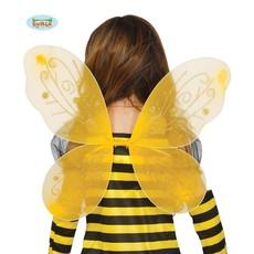 Gele vleugels 44x37cm