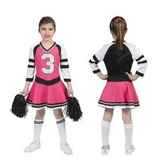 Cheerfull Cheerleader jurkje roze kind